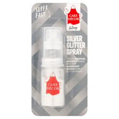 Picture of Cake Decor Silver Glitter Spray 4G