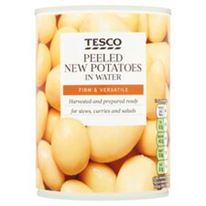 Picture of Tesco New Potatoes In Water Tinned 567G