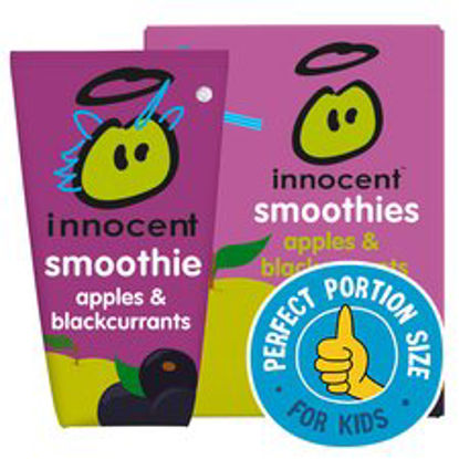 Picture of Innocent Kids Smoothies Apple & Blackcurrant 4X150ml