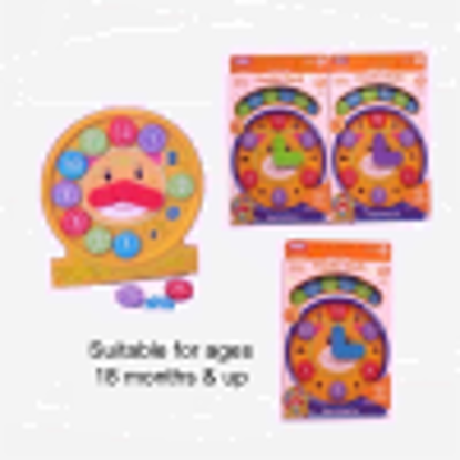Picture of Fun Time Puzzle Clock