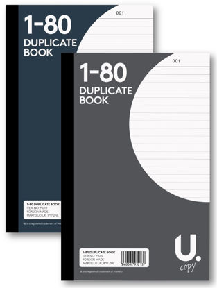 Picture of Duplicate Book - 2 Carbon Copy Sheets - 1 - 80