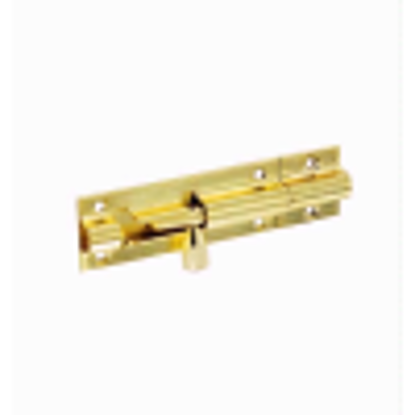 Picture of Securit Brass Door Bolt 1 inch Wide 75mm