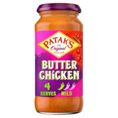 Picture of Pataks Butter Chicken Cooking Sauce 450G