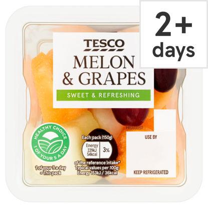 Picture of Tesco Melon & Grape 150G