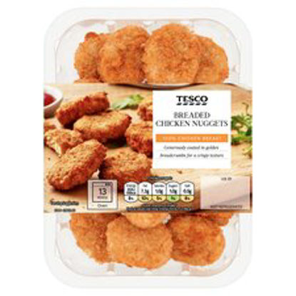 Picture of Tesco Breaded Chicken Nuggets 285G