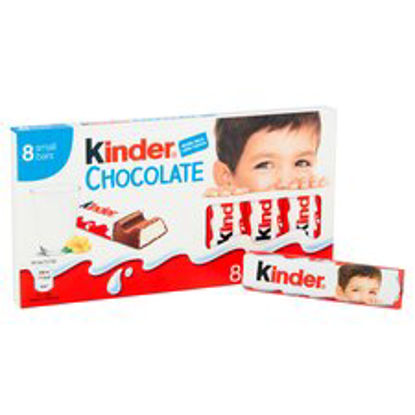 Picture of Kinder Chocolate 8 Pack 100G