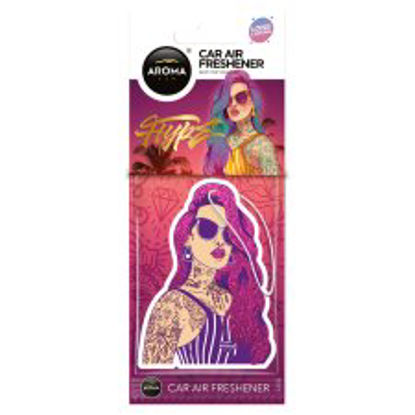 Picture of Aromatherapy Car Air Freshener Hype Girl Pink Hair