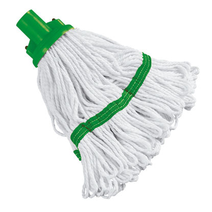 Picture of 180g Green Hygiene Socket Mop Head - 103061