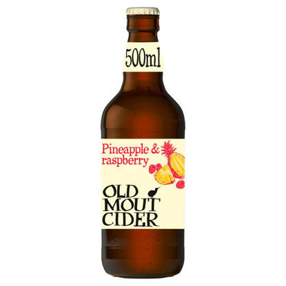 Picture of Old Mout Cider Pineapple & Raspberry 500Ml Bottle