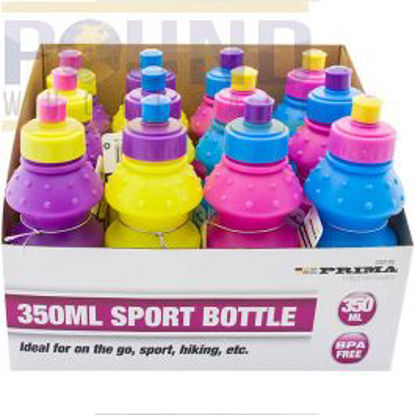 Picture of PRIMA SPORTS BOTTLE 350ML ASSORTED COLOURS CDU