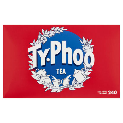 Picture of Typhoo 240 Tea Bags 696G