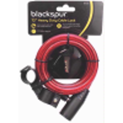 Picture of Blackspur BB-BH216 6' HD Cable Bicycle Lock