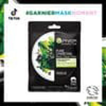 Picture of Garnier Charcoal/Algae Face Mask 28G