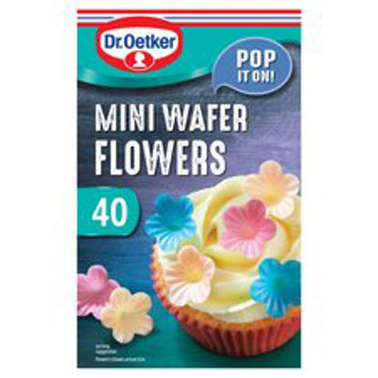 Picture of Dr Oetker Wafer Flowers 40'S
