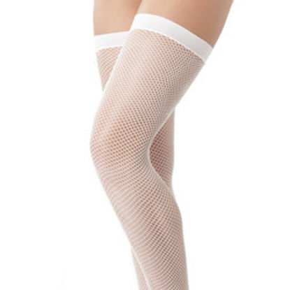 Picture of White Fishnet Stockings