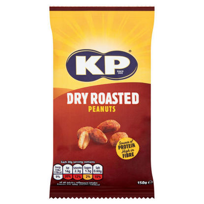 Picture of KP Dry Roasted Peanuts 150g