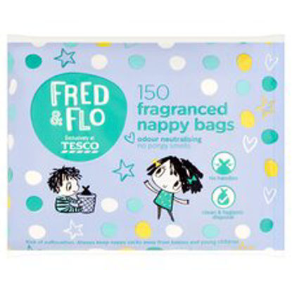 Picture of Fred & Flo 150 Nappy Bags