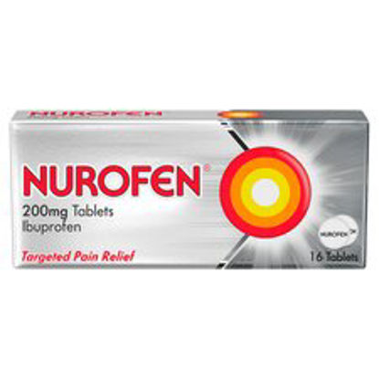 Picture of Nurofen Ibuprofen 200Mg Tablets 16 Pack