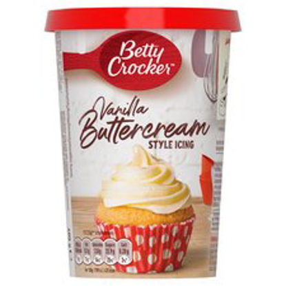 Picture of Betty Crocker Vanilla Buttercream Style Icing, 400g
