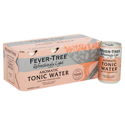 Picture of Fever Tree Light Aromatic Tonic Cans 8X150ml
