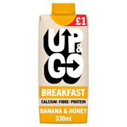 Picture of Up&Go Breakfast Drink Banana & Honey 330Ml