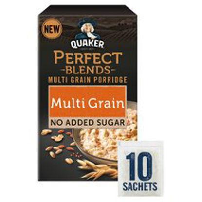 Picture of Quaker Perfect Blends Multigrain Porridge 10 Pack 320G