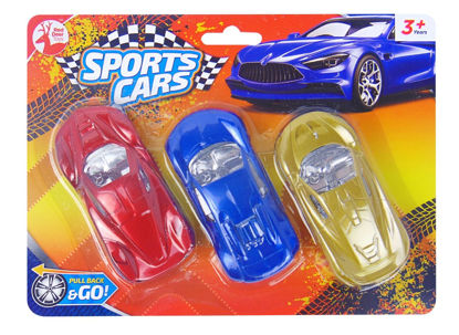 Picture of Pull Back & Go Sports Cars by Red Deer Toys