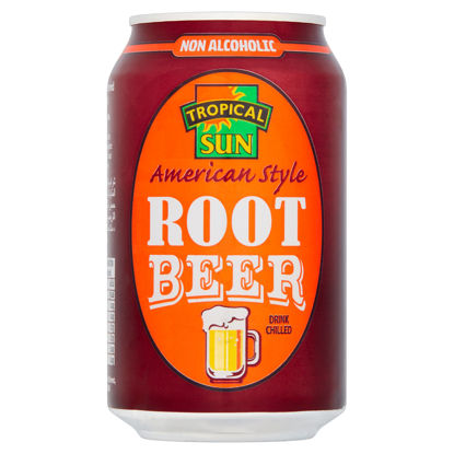 Picture of Tropical Sun American Style Root Beer 330Ml