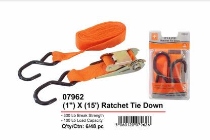 "Picture of JAK Ratchet Tie Down - 1"" x 15"""