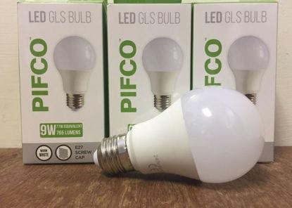 Picture of Pifco LED GLS Bulb - E27 Screw Cap - Warm White - 9W - 765 Lumens
