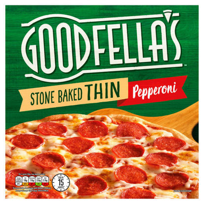 Picture of Goodfella's Stone Baked Thin Pepperoni 332g