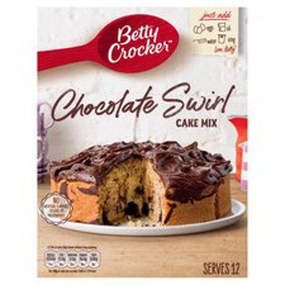 Picture of Betty Crocker Chocolate Swirl Cake Mix 425G
