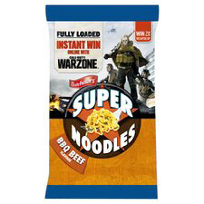 Picture of Batchelors Super Noodles Bbq Beef 90G