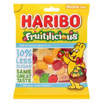 Picture of Haribo Fruitilicious Reduced Sugar 165G