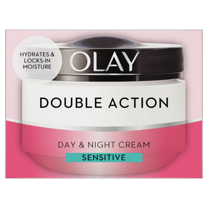 Picture of Olay Double Action Moisturiser Day Cream Sensitive 50Ml