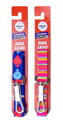 Picture of Cooper & Pals Dog Lead - Medium - Colours May Vary