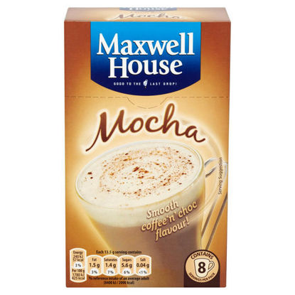 Picture of Maxwell House Classic Roast Mocha x8