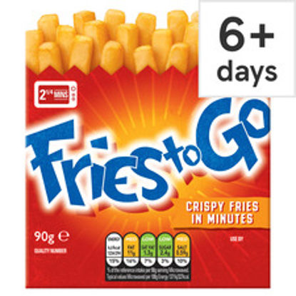 Picture of Fries To Go Crispy Fries 90G