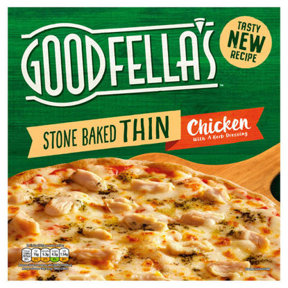 Picture of Goodfella's Stonebaked Thin Chicken 365G