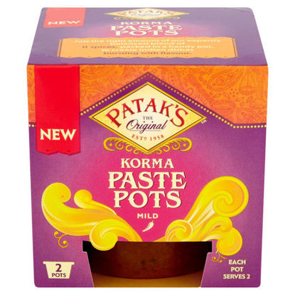 Picture of Pataks Korma Paste Pots 2X70g