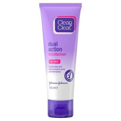 Picture of Clean and Clear Dual Action Moisturiser, 100ml