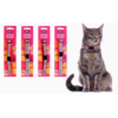 Picture of WORLD OF PETS CAT COLLAR REFLECTIVE