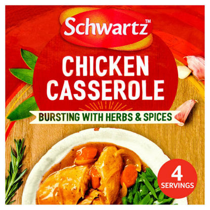 Picture of Schwartz Authentic Chicken Casserole Mix 36G