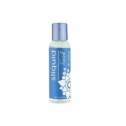 Picture of Sliquid Naturals Swirl Flavoured Lubricants-Blue Raspberry 59ml