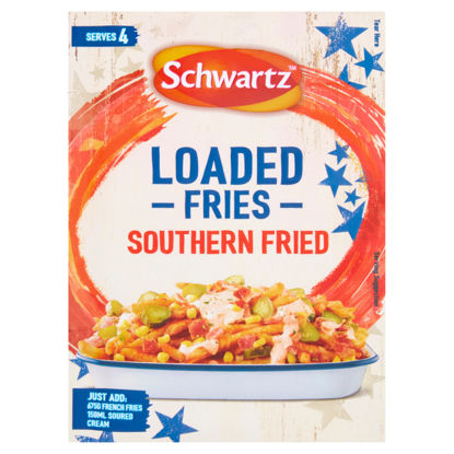 Picture of Schwartz Loaded Fries Southern Fried 20G
