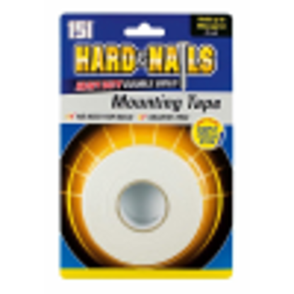 Picture of 6 x Hard As Nails Heavy Duty Double Sided Mounting Tape - 24mm x 5M