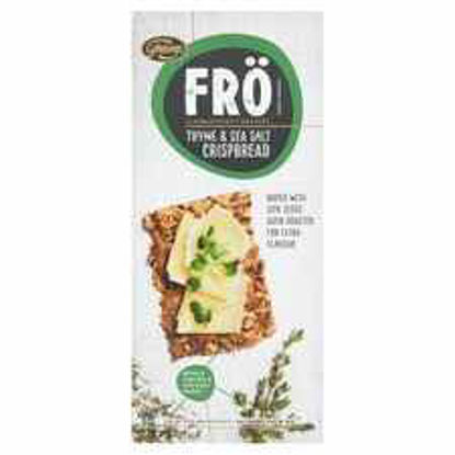 Picture of Fro Thyme & Sea Salt Crisp Bread 200G