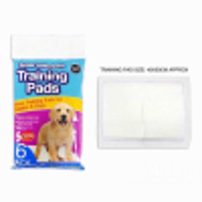 Picture of WORLD OF PETS PUPPY TRAINING PADS 6PK