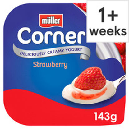 Picture of Muller Corner Strawberry Yogurt 143G