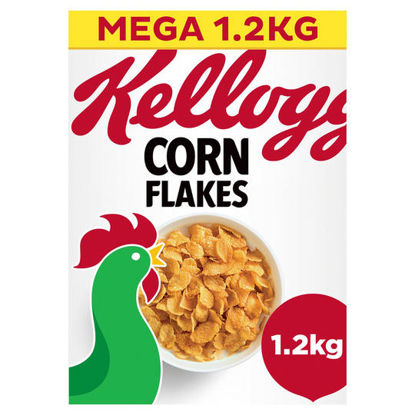 Picture of Kellogg's Corn Flakes Cereal 1.2kg